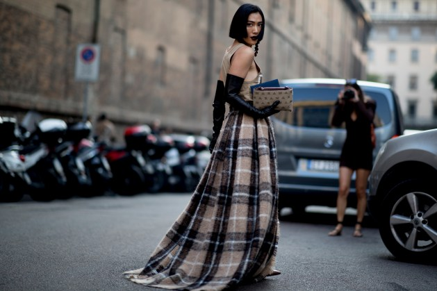 Milan Fashion Week Street Style Spring 2019 Day 1