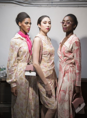Negris Lebrum Spring 2019  Fashion Show Backstage
