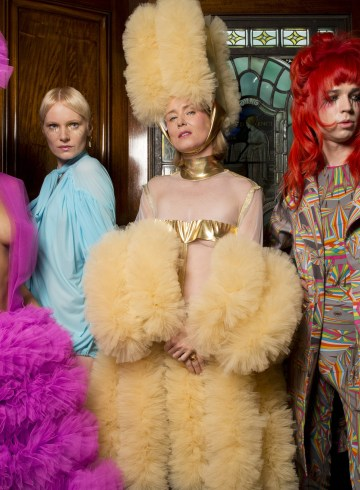 Pam Hogg Spring 2019 Fashion Show Backstage