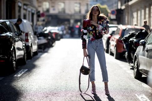Paris Fashion Week Street Style Spring 2019 Day 4