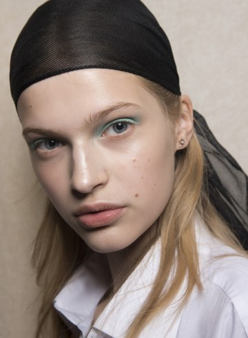 Peter Pilotto Spring 2019 Fashion Show Backstage Beauty