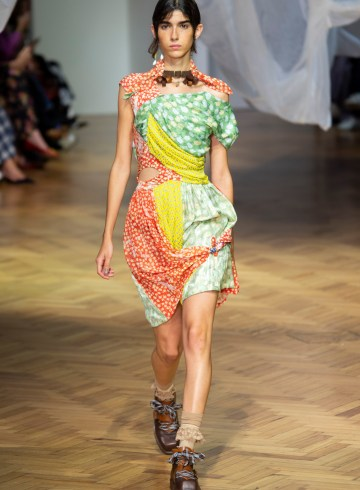 Preen By Thornton Bregazzi Spring 2019 Fashion Show