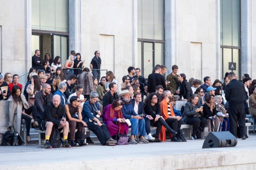 Rick Owens Spring 2019 Fashion Show Atmosphere