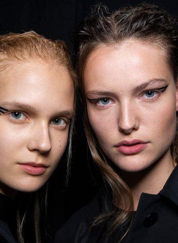 Rochas Spring 2019 Fashion Show Backstage Beauty