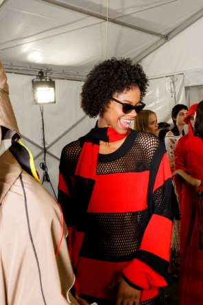 Sonia Rykiel Spring 2019 Fashion Show Backstage