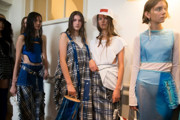 Jamie Wei Huang Spring 2019 Fashion Show Backstage