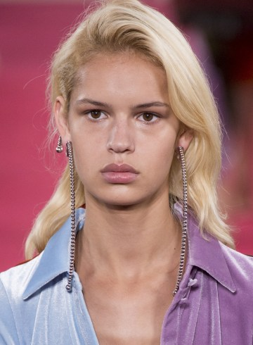 Y Project Spring 2019 Fashion Show Runway Beauty
