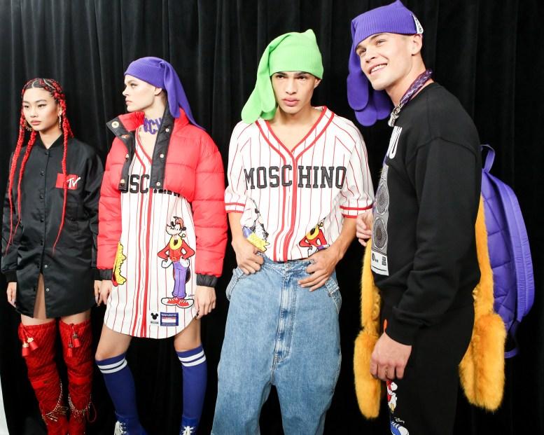 MOSCHINO [tv] H&M Holiday 2018 Fashion Show-backstage-the-impression-039