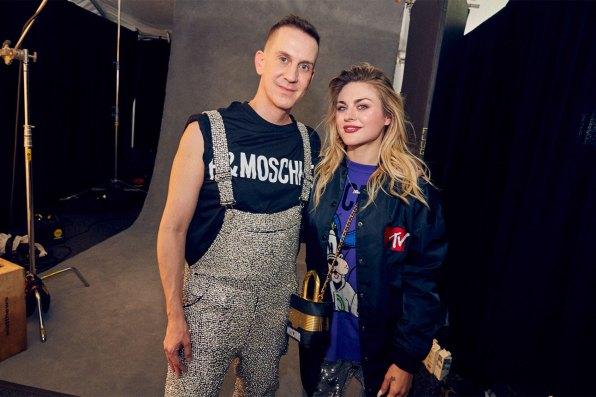 MOSCHINO [tv] H&M Holiday 2018 Fashion Show-backstage-the-impression-069