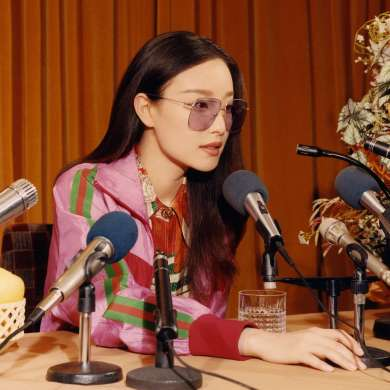 Gucci Fall 2018 Eyewear Campaign starting Ni Ni
