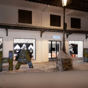 Chanel Ephemeral Boutique in Courchevel