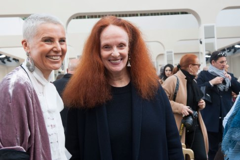 Grace Coddington at Chanel