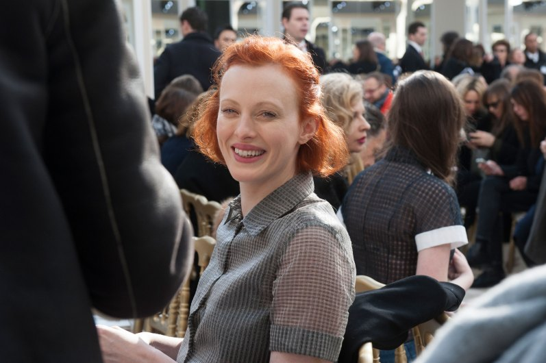 Karen Elson at Chanel