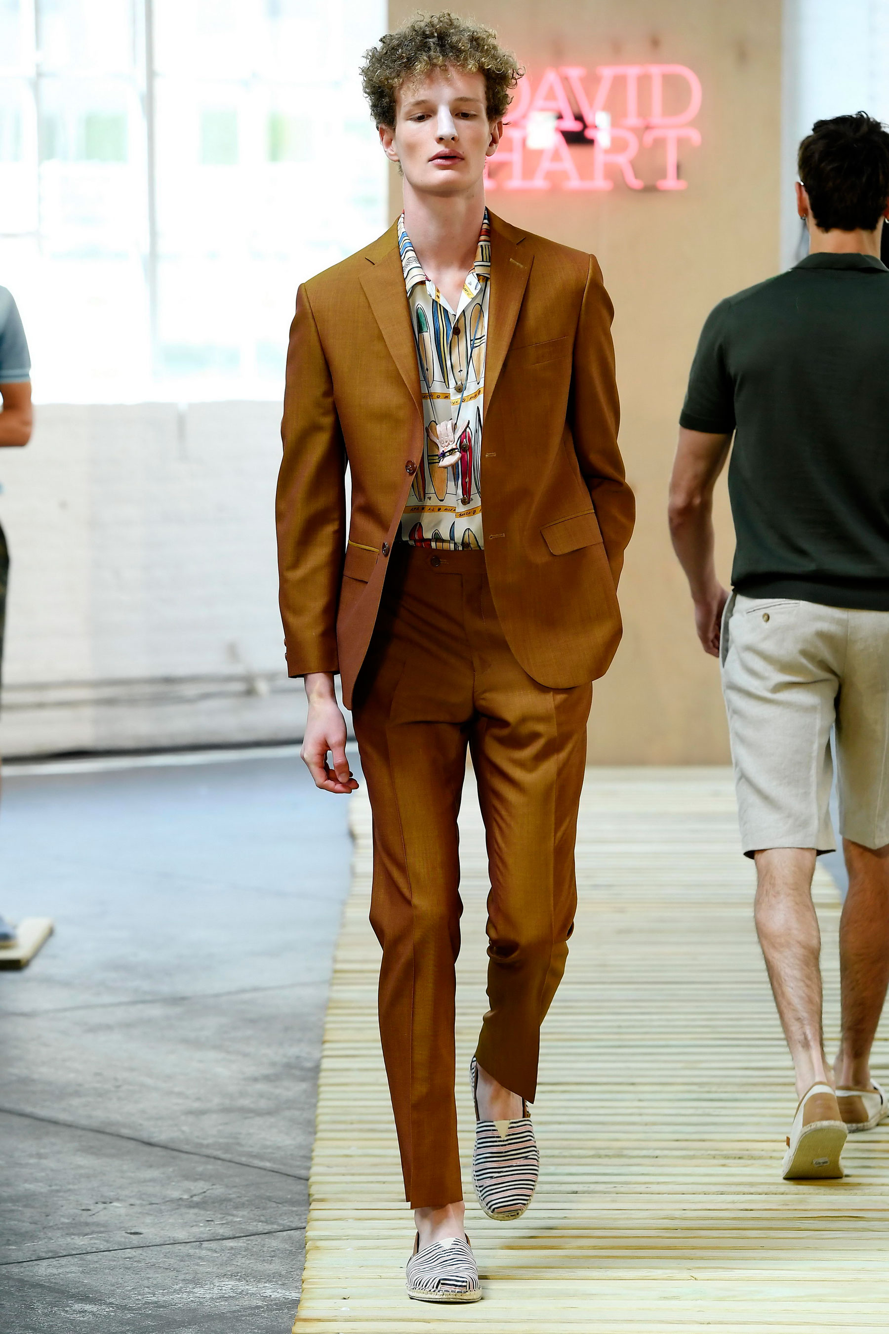 David Hart, New York Menswear, 7/11/2016