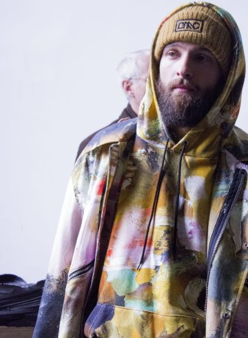 Dim Mak Collection Fall 2017 Menswear Fashion Show Backstage