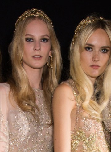 elie saab couture fall 2015 backstage photos