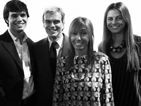 Giovanni, Gianni, Consuelo, & Carolina Castiglioni