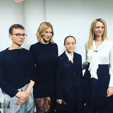Vejas Kraszewski, Léa Seydoux, Grace Wales Bonner, Delphine Arnault