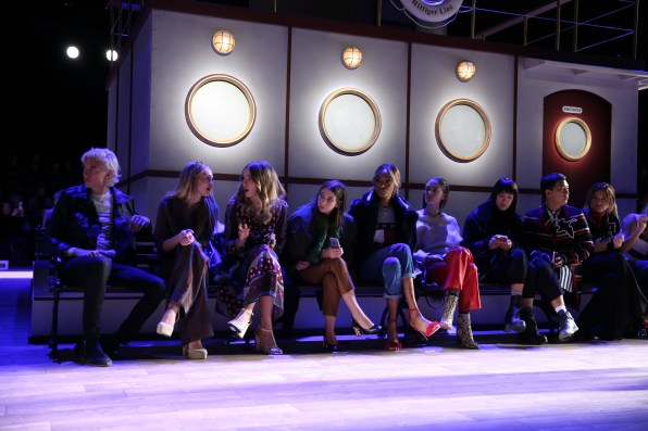 Tommy Hilfiger Women's - Front Row - Fall 2016 New York Fashion Week: The Shows