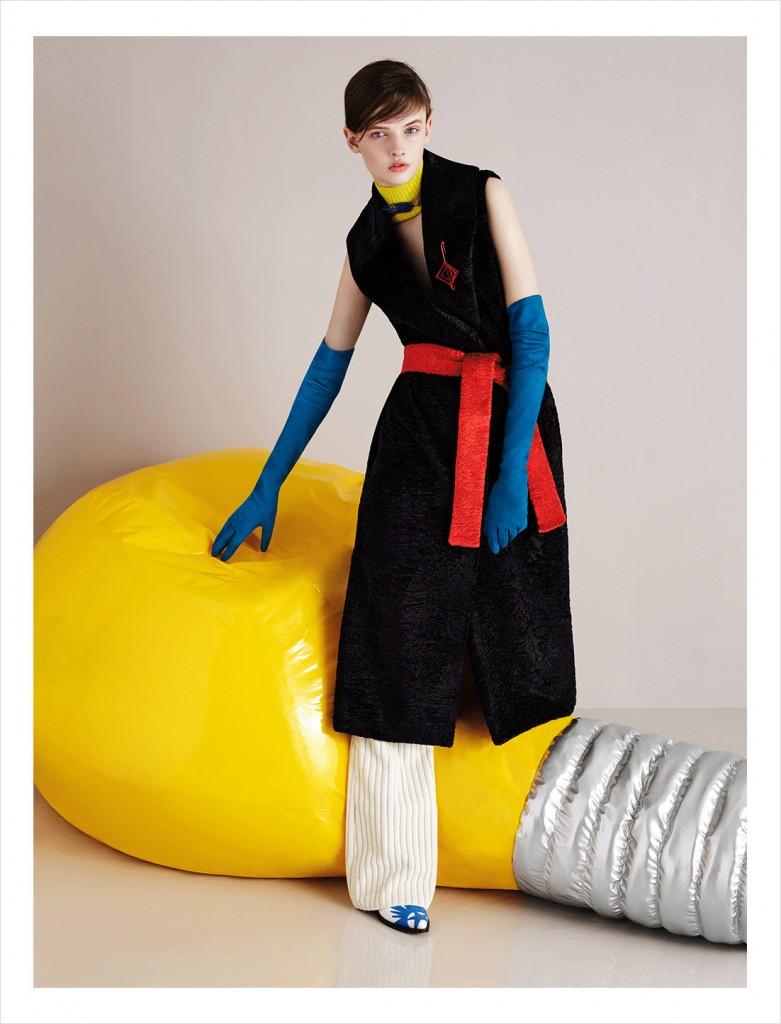 MSGM Fall 2015 Ad campaign photo