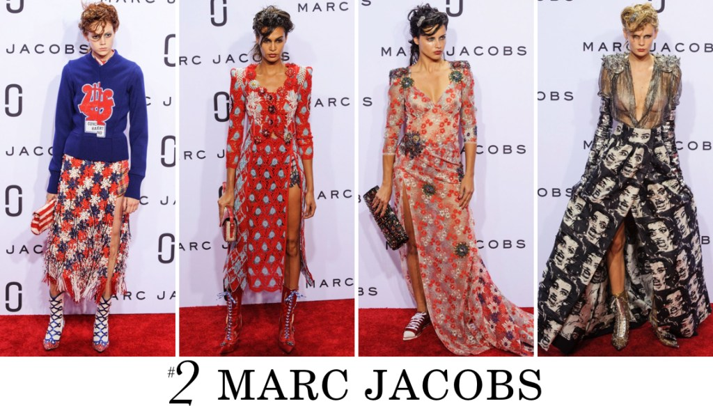 Marc Jacobs Top 10 spring 2016 fashion show photo