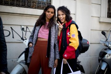 The Best of The Impression's Milan Fashion Week Models Off-Duty Street Style Fall 2017 - Day 5
