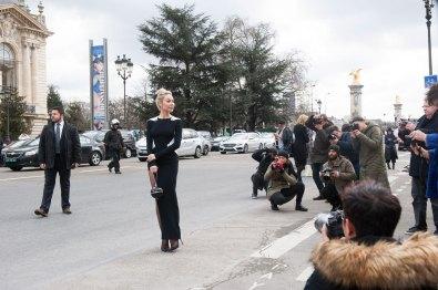 Ulyana Sergeenko at Mugler
