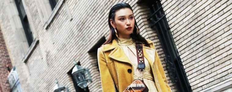 New York Fashion Week Street Style Spring 2018 Day 7 by Myoungsoo Lee