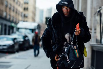 New York Week Fashion Week Men's Street Style Day 4 Fall 2017 - Part 2
