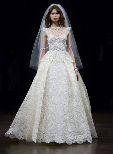 Naeem Khan Spring 2018 Bridal Fashion Show