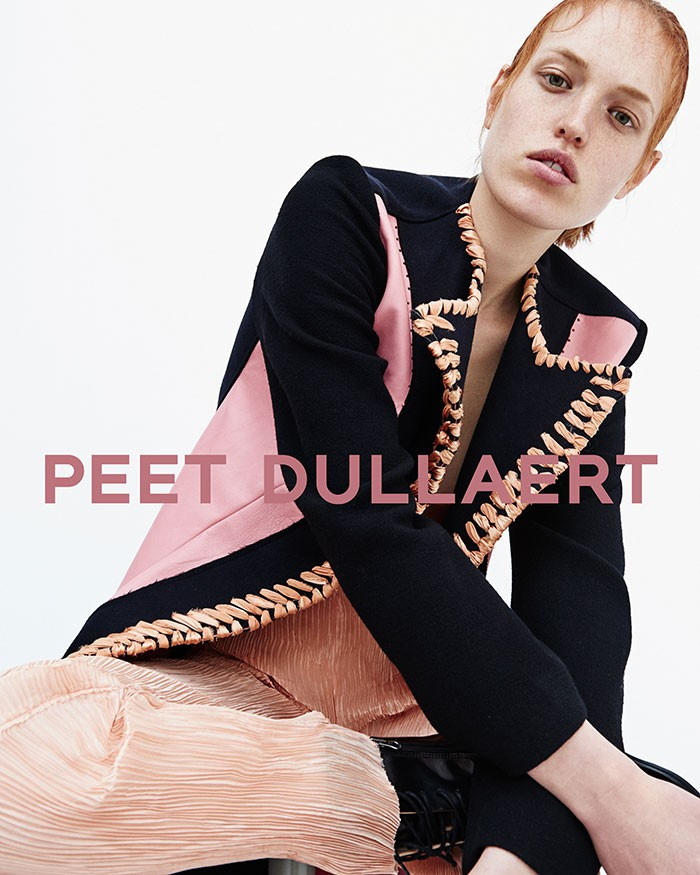 peet dullaert fall 2015 ad campaign  Ann Koster by Duy Vo photo