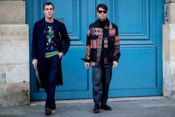 Paris Men's Fashion Week Street Style Day 3 Fall 2017