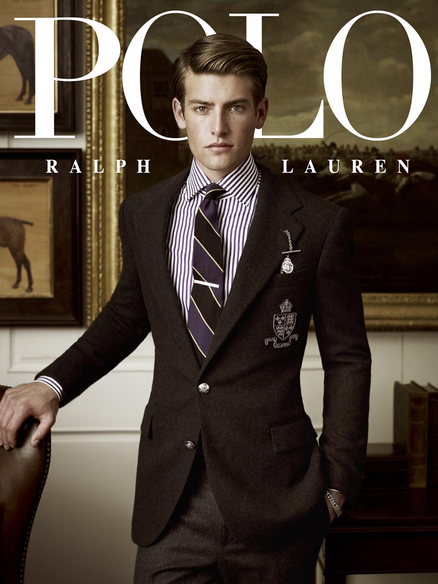 Polo Men's Fall 2011 cover