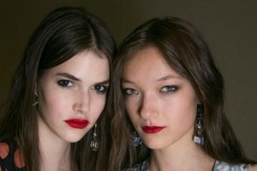 Topshop Spring 2016 Fashion Show Beauty backstage Photo