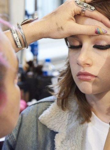 Valentino Resort 2018 Fashion Show Backstage Beauty