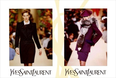 Yves Saint Laurent FW 1996