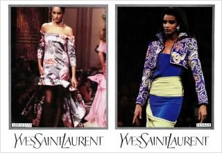 Yves Saint Laurent SS 1987