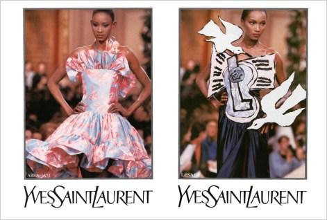 Yves Saint Laurent SS 1988