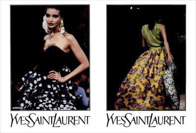 Yves Saint Laurent SS 1992