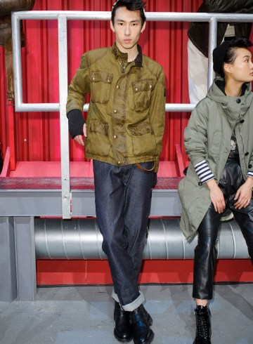 Belstaff Fall 2017 Menswear Fashion Show
