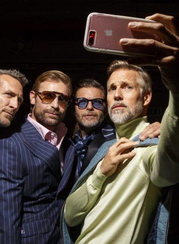 Billionaire Spring 2018 Men's Fashion Show Backstage