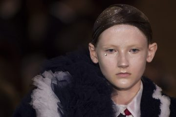 Thom Browne Spring 2018 Fashion Show Beauty