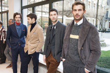 Brunello Cucinelli Fall 2017 Menswear Fashion Show