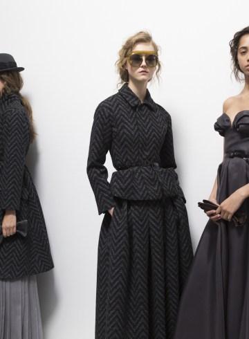 Christian Dior Fall 2017 Couture Fashion Show Backstage