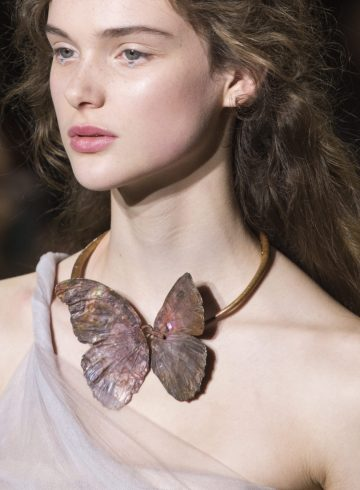 Christian Dior Spring 2017 Couture Fashion Show Beauty