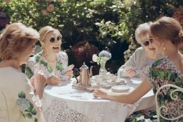 Dolce & Gabbana Shows Love Has No Age in 2017 Eyewear Fashion Film