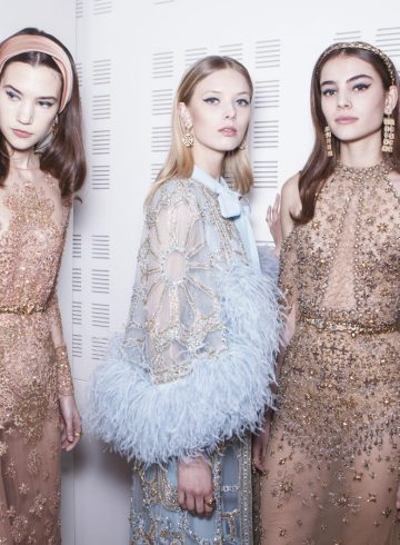 Elie Saab Spring 2017 Couture Fashion Show Backstage