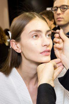 Ellery Fall 2017 Fashion Show Backstage Beauty