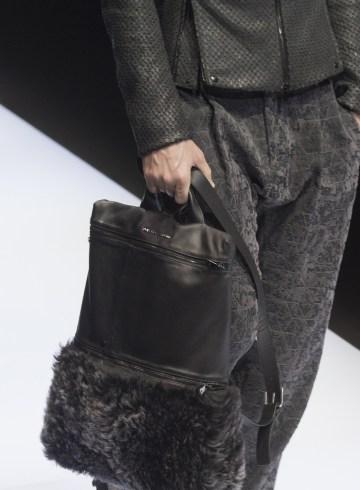 Emporio Armani Fall 2017 Menswear Fashion Show Details