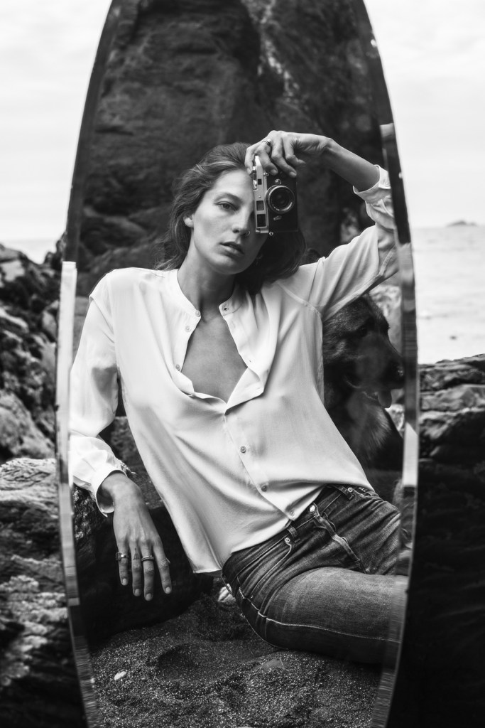 Equipment Daria Werbowy Fall 2015 ad campaign photo